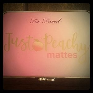Too Faced Just Peachy Mattes Palette AUTHENTIC!!